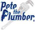 Pete the Plumber - Footer Logo